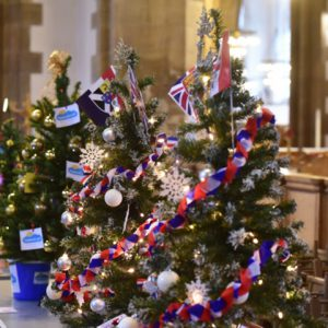 The 9th Annual Tree and Crib Festival in Great Yarmouth Minster