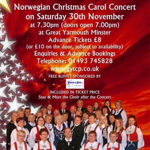 Lardal Kantori Norwegian Choir Christmas Carol Concert